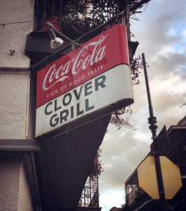 clover-grill-sign-265x300 Why We Love New Orleans for Long Weekends – A Birthday with Friends