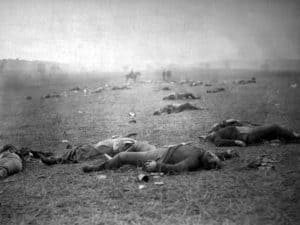 Battle_of_Gettysburg-aftermath-300x225 The Takeaway from Gettysburg