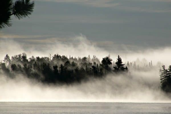 foggy-bank-600-400-600x400 Canoe the Boundary Waters BWCA with a beginner paddler