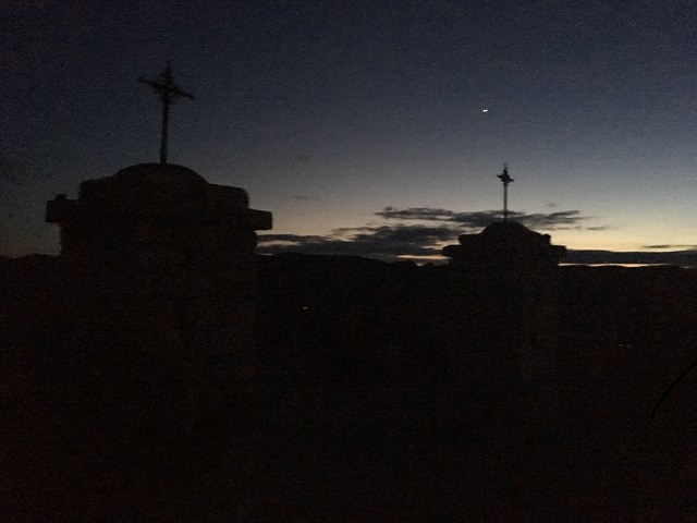 Terlingua-ghost-town-cemetery-at-night Terlingua, Texas