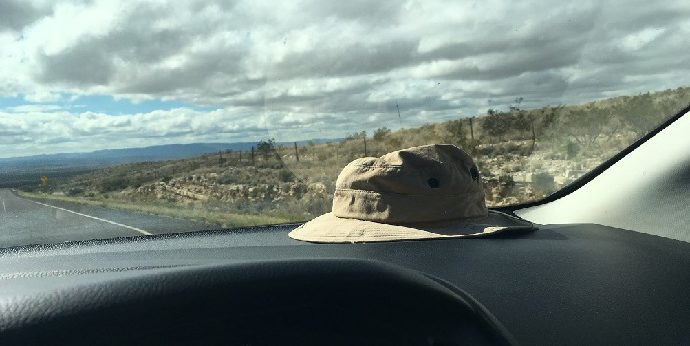 trip-to-terlingua-hat-on-dashboard-e1481147922141 Terlingua, Texas