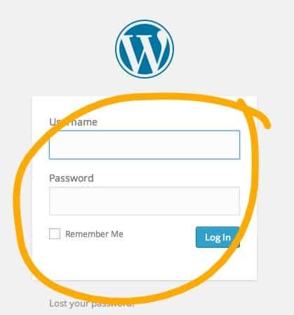 17-WordPress-Login-_Ink_LI-with-circle How to start your  blog
