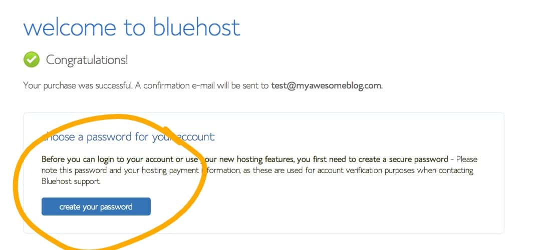 7-Welcome-To-Bluehost_Ink_LI-with-circle How to start your  blog