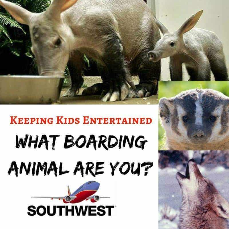 Southwest Airlines Boarding Game
