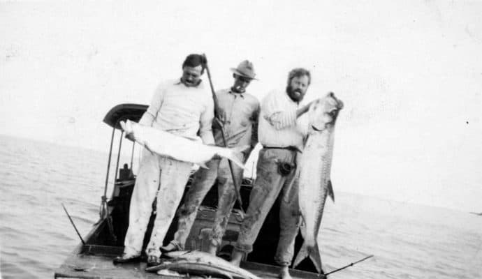ernest-hemingway-catching-tarpon-credit-Ernest-Hemingway-Collection.-John-F.-Kennedy-Presidential-Library-and-Museum-Boston.-690x400 Port Aransas