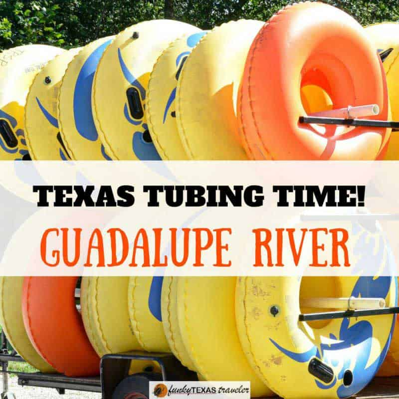 Texas tubing on the Guadalupe River   Funky Texas Traveler