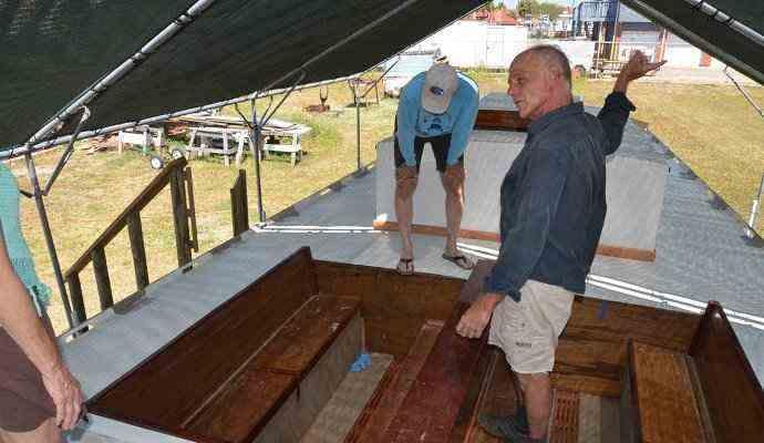 Dan-Pecore-Port-Aransas-boat-builder-Texas-Scow-Schooner Dan Pecore, Port Aransas boat builder