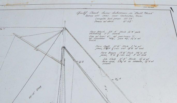 Port-Aransas-Scow-Schooner-plans-684x400 Port Aransas and the Texas Scow Schooner Project