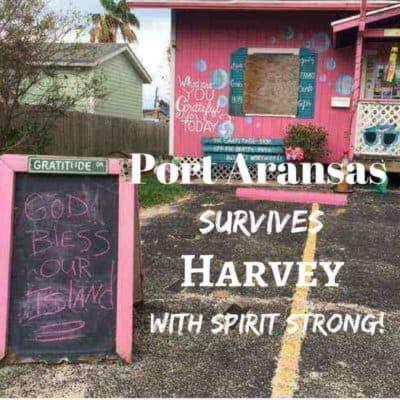 Port Aransas post Harvey