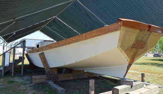 Port-Aransas-scow-schooner-butthead Port Aransas and the Texas Scow Schooner Project
