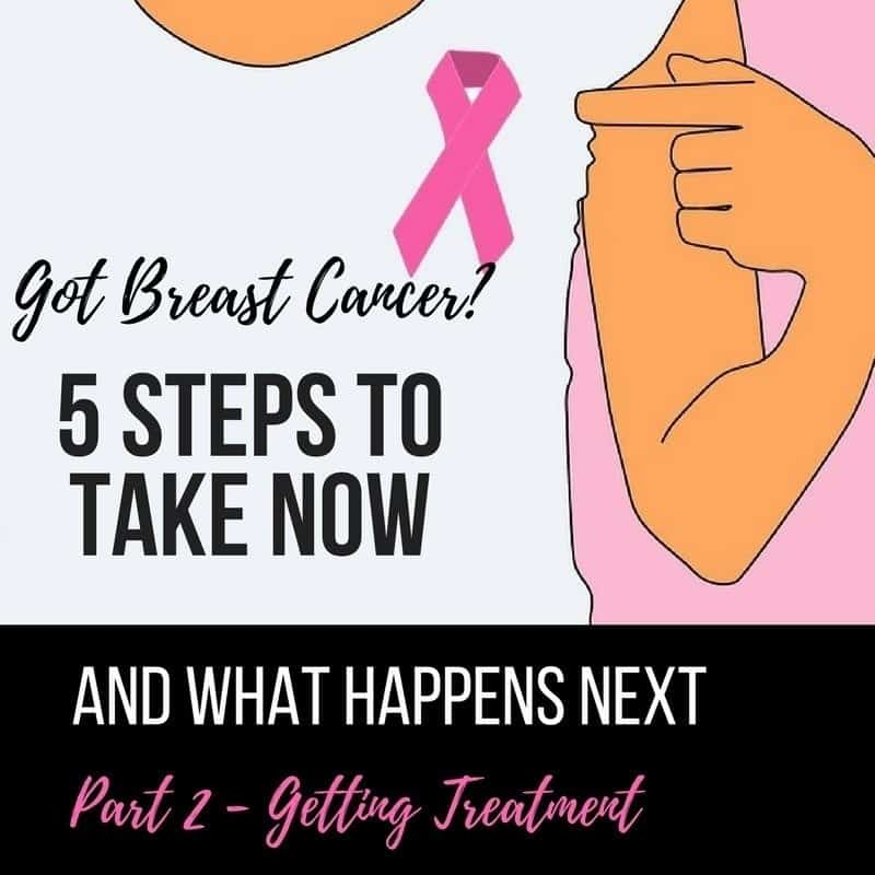 Breast Cancer. 5 steps to take before treatment