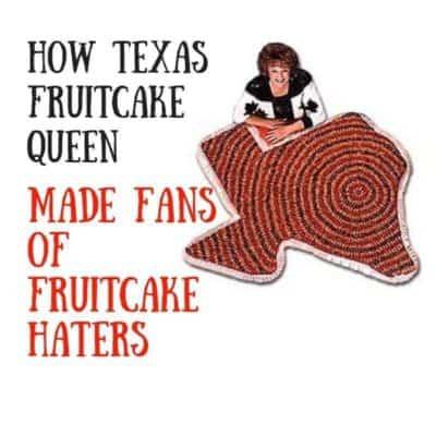 Visiting the Texas Czech Fruitcake Queen
